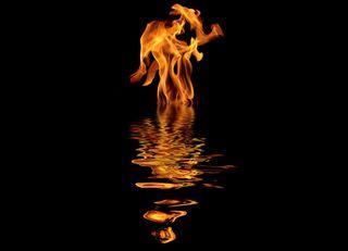 Fire-water-oil