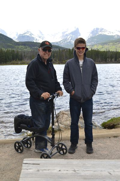 Will 13yr trip - Colorado - Sprague Lake
